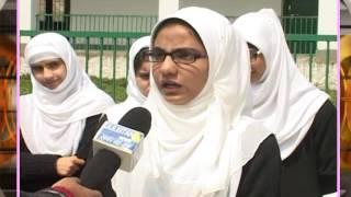 campus buzz GOVT. GIRLS HR.SEC NOWHATTA SRINAGAR WITH IRFAN FAZIL