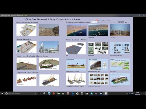 Oil & Gas Terminal & Jetty Construction in2min