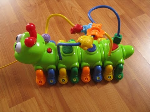 Musical Caterpillar with Lights & Sounds Great Activity Toy
