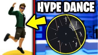 roblox added the HYPE DANCE from FORTNITE... (Secret Emote Dance) | How To Use Emotes In Roblox