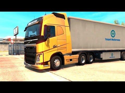 Euro Truck Simulator 2 Italia DLC - Yogurt Pick Up from Bari |