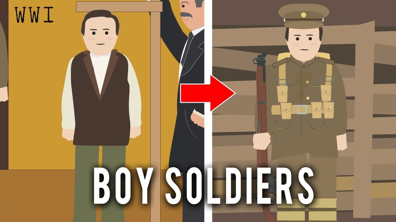 boy soldiers in the first world