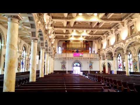 Pelland Organ Co, Sacred Heart Church of Newton MA