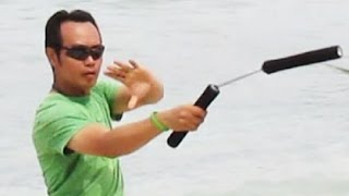 Video NUNCHAKU Inc Training - Gili Trawangan Island of Lombok - NUNCHUKS Bruce Lee [HD] download MP3, 3GP, MP4, WEBM, AVI, FLV Desember 2017