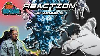 The God of High School Episode 5 Reaction!! Han vs Mori