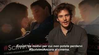 #ScrivimiAncora - I 3 motivi di Sam Claflin per cui dovreste vedere il film