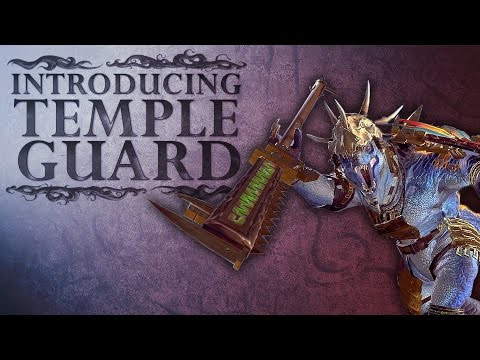 Total War WARHAMMER 2 - Introducing... Temple Guard