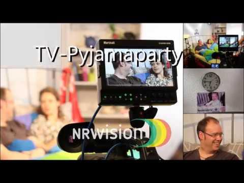 Hinter den Kulissen der großen Pyjamaparty mit Charlotte und Olly LIVE bei NRWision