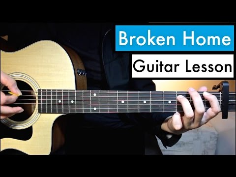 Broken Home 5 Seconds Of Summer Guitar Tutorial Lesson Chords