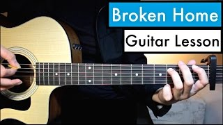 Broken Home - 5 Seconds of Summer | Guitar Tutorial (Lesson) Chords