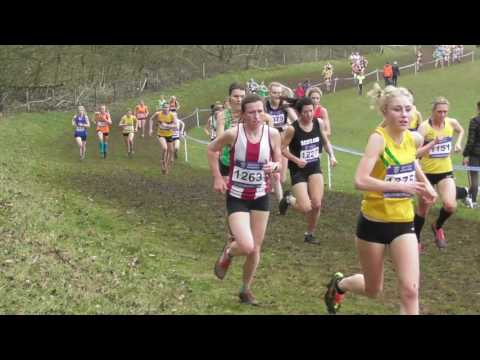 Senior Women UK Inter Counties National Cross Country Championships 11032017