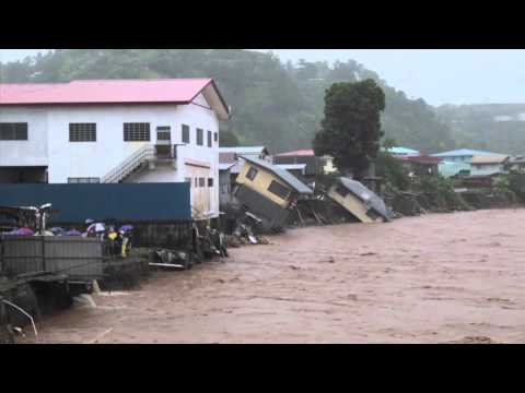 Devastating flash floods in Honiara