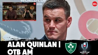 Writing off Ireland   Alan Quinlan on OTB AM   Rugby World Cup