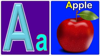 A for Apple B for Ball ||ABC Phonics Song for Children || Nursery Rhymes for Kids
