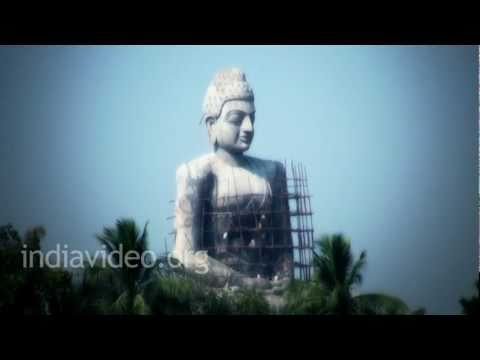 Buddhist Stupa  Amaravathi  Andhra Pradesh