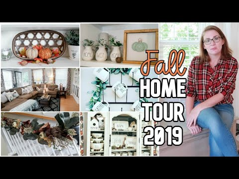 NEW! Fall Farmhouse Home Tour 2019 | Farmhouse Decor Ideas | Budget Home Decor