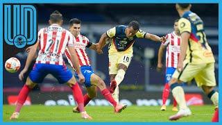 Giovani Dos Santos, la eterna promesa, anotó un golazo y le dio la victoria al América. Desde que llegó lleva tres anotaciones y esperemos que su nivel mejore en las próximas jornadas.    #América #Chivas #ClásicoNacional