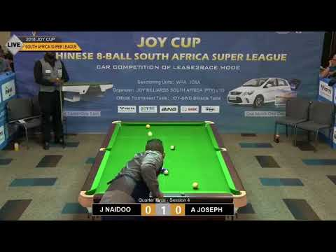 1st JOY Cup Chinese 8-Ball South Africa Super League (CESL) - Saturday Part 2