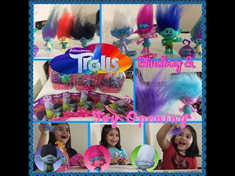Trolls Blind Bags And Toy Opening