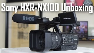 Sony HXR-NX100 Unboxing and Overview - Review coming soon!