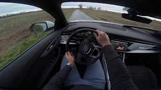 AUDI Q8 50 TDI S-LINE Test Drive POV
