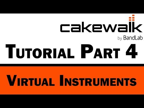 Cakewalk by BandLab Tutorial (Part 4) – Virtual Instruments for MIDI