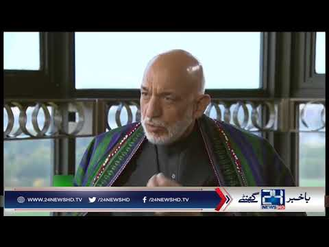 Hamid Karzai alleges US backing militants in Afghanistan