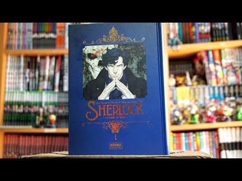 Reseña manga SHERLOCK de Norma Editorial   Review en español