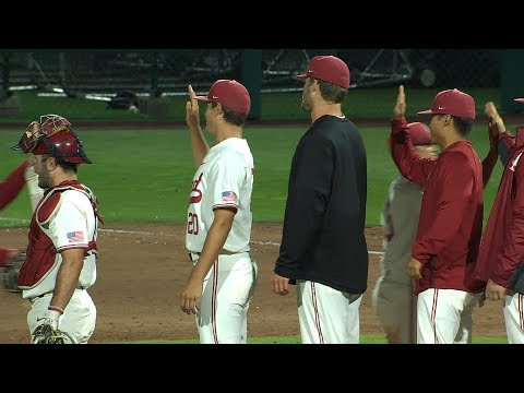 No. 3 Stanford baseball uses bats & defensive play of-the-year to defeat Washington State in...