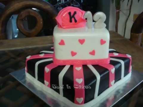 12 Yrs Old Birthday Girl Cake Youtube