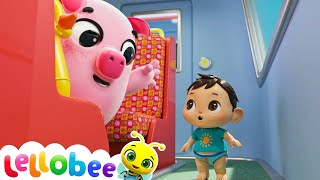 Animals Train Song + More Nursery Rhymes & Kids Songs -ABCs and 123s! Little Baby Bum