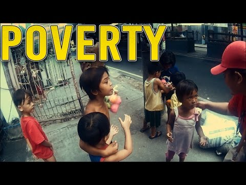 POVERTY IN THE PHILIPPINES | CHILDREN LIVING ON THE STREETS
