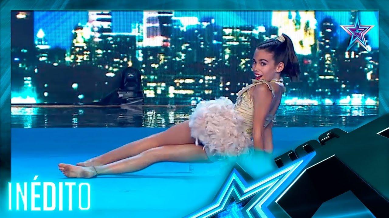 ¡LADY MARMALADE! Esta NIÑA de 11 años es una GRAN ACRÓBRATA | Inéditos | Got Talent España 5 (2019)