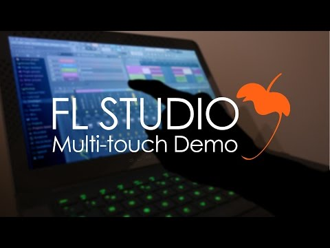 FL Studio 12 | Multitouch Demo + Razer Blade Laptop