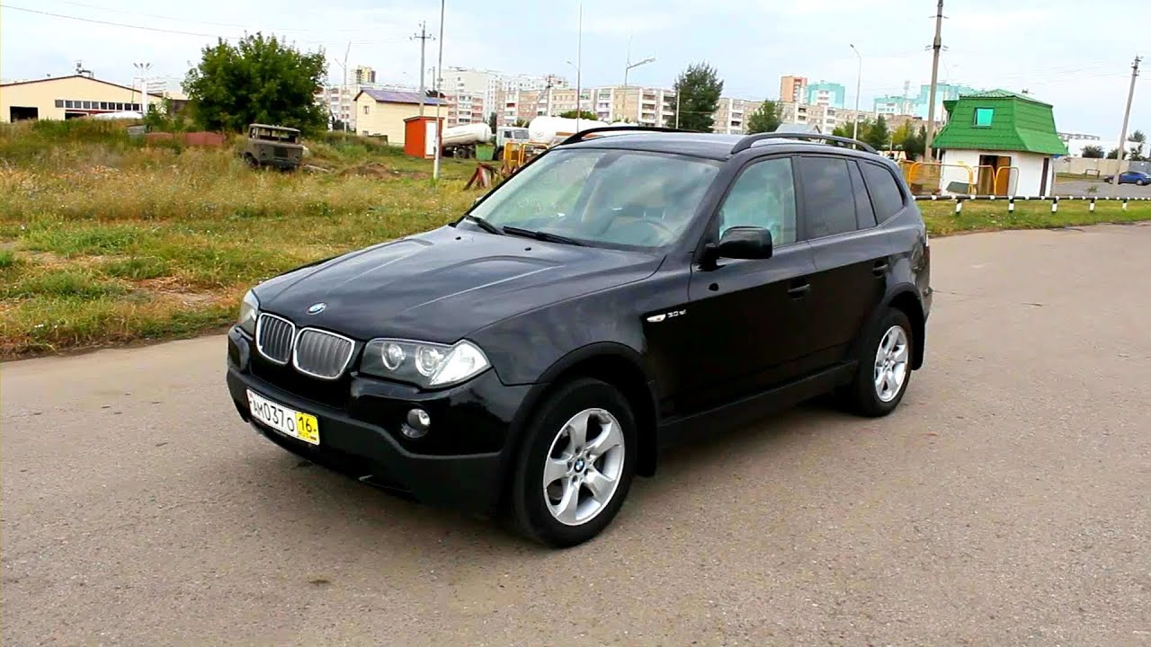 2008 bmw x3 start up engine and in depth tour