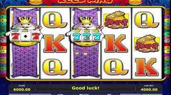 Big Win On The Free Spin Bonus Reel King Slot Machine