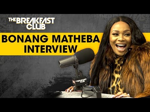 The Breakfast Club - This Week On The Breakfast Club Bonang Matheba =The Queen of South Africa