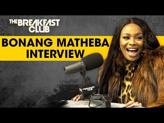 Bonang Matheba Talks South Africa Media Industry, Cultural Misconceptions