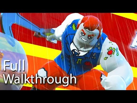 "VILLAIN ""ANCHOR-MAN""  Walkthrough (Lego The Incredibles) Post Game Boss Mission 60FPS"
