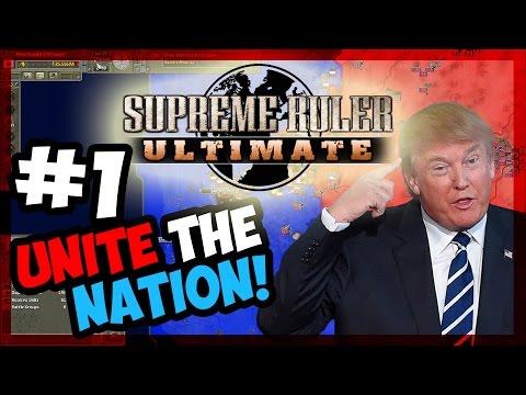 TRUMP RISING! | Supreme Ruler Ultimate - TRUMP - E.1