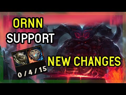 SEASON 9 ORNN SUPPORT - DIAMOND - LEAGUE OF LEGENDS thumbnail