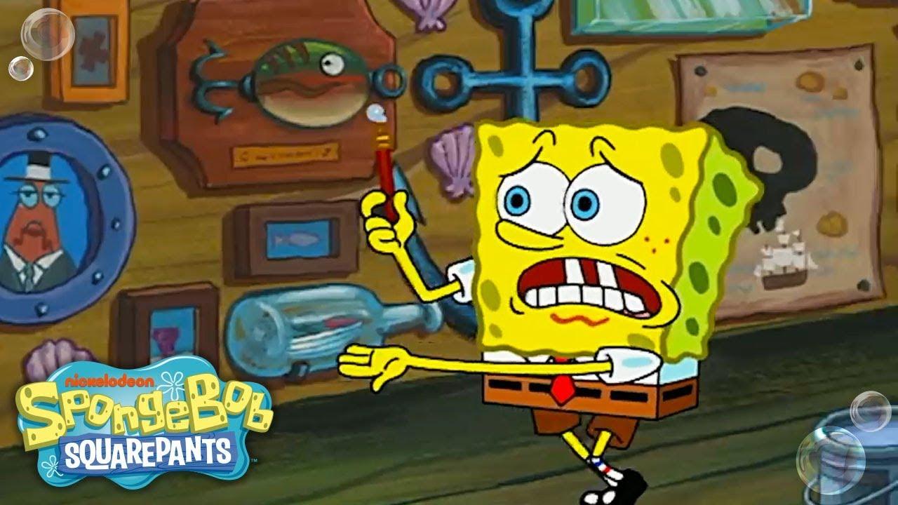 Spongebob patrick thewetpainters