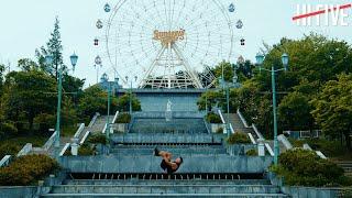 遊園地でパルクール!【 MASAHITO / EXHIBITION STAGE 005】|Parkour in amusement park