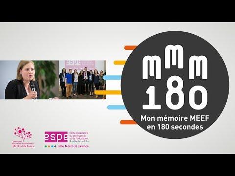Concours Mon Mémoire MEEF en 180