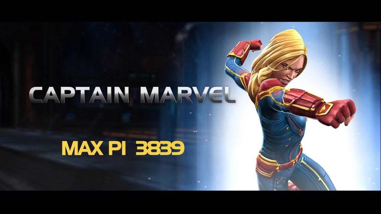 champion spotlight - captain marvel   marvel contest of