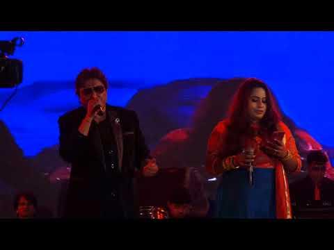 Shabbir Kumar & Madhumita Roy live performance..Song//Sunai Deti Hai Jiski Dhadkan Tumhara Dil  YA..
