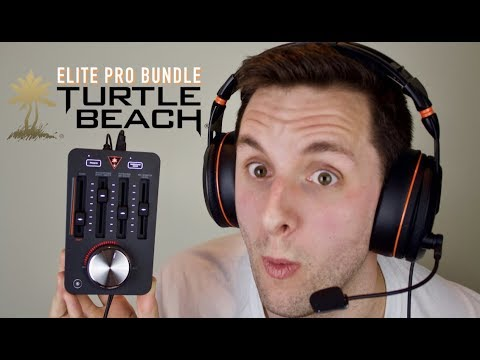 The Best 7.1 Wired Gaming Headset?! Turtle Beach Elite Pro Bundle | Mic Test & Review