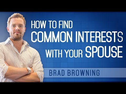 How to Find Common Interests With Spouse (And Re-Spark Your Chemistry)