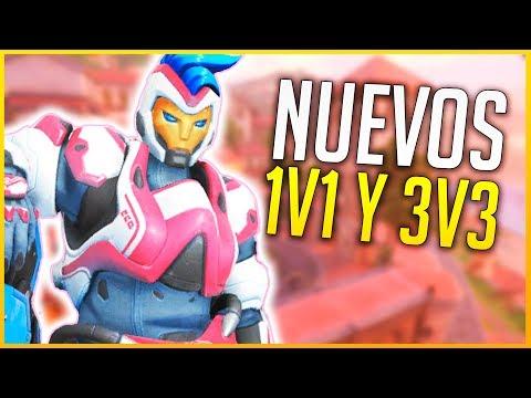 OVERWATCH: LOS NUEVOS MODOS 1v1 Y 3V3   Makina