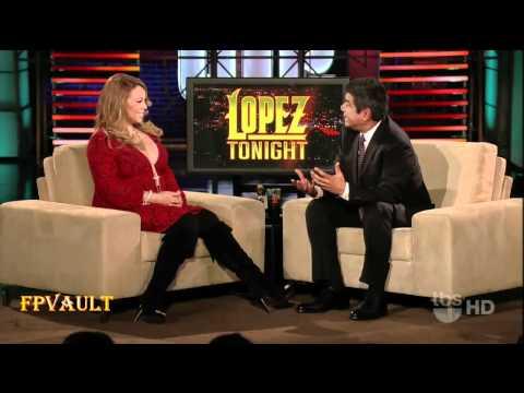 Mariah Carey - Lopez tonight - November 2010.